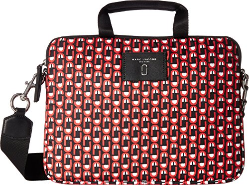Marc Jacobs Women's Logo Scream 13'' Commuter Case Red Multi One Size by Marc Jacobs