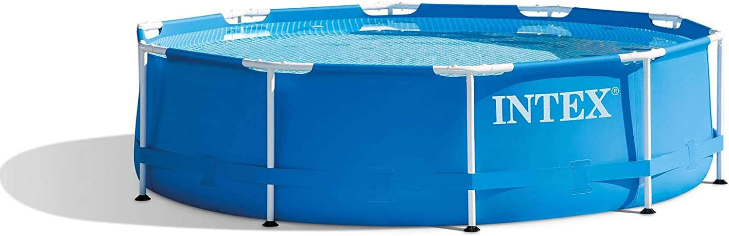 Intex 10 Foot x 30 Inch Above Ground Swimming Pool