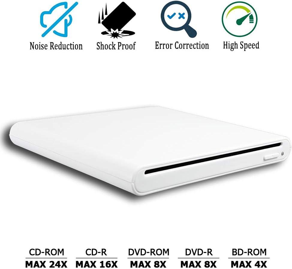 USB 2.0 External CD//DVD Drive for Acer Aspire 5250-0417