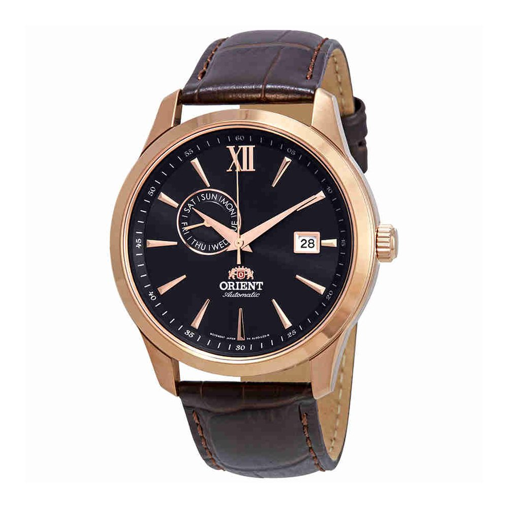 Orientクラシック自動ブラックダイヤルメンズ時計fal00004b0 B07DY8XG8R