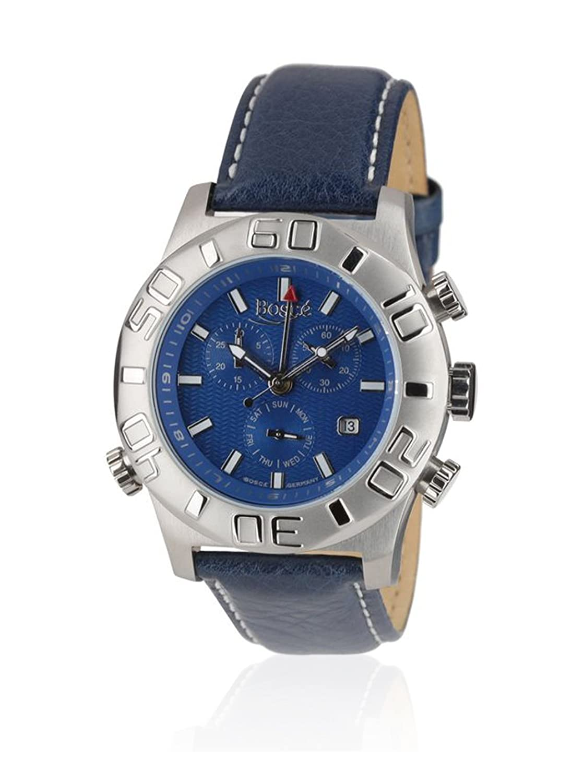 BoscÉ Herren-Armbanduhr Analog Automatik Leder BO-HQ22170-858BL