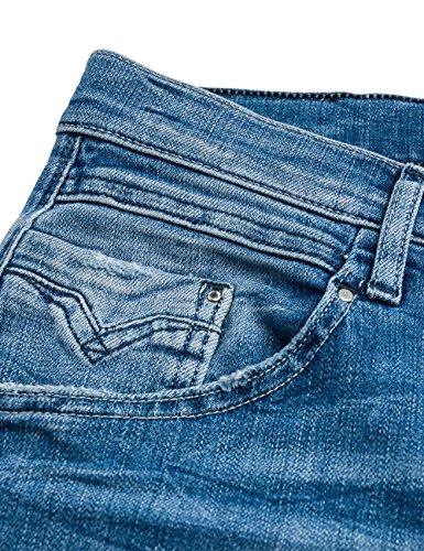 Replay Denice Denim 9 blue Donna New Pocket Blu Jeans Boyfriend rZd1rxU