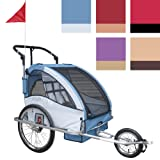 Infantastic Bicycle & Jogging Trailer Children's Spacious Bike Stroller DIFFERENT COLOURS
