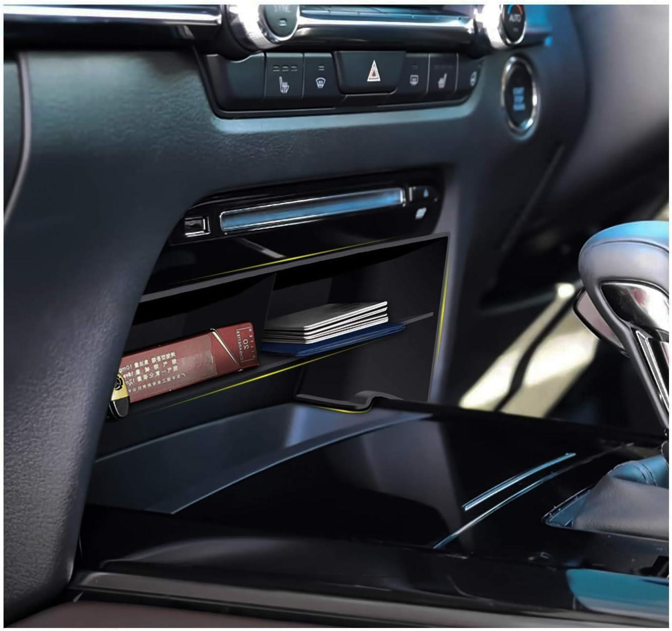 CDEFG f/ür CX-30 CX30 2019 2020 Zentrale Steuerung Multifunktionaler Aufbewahrung Auto Center Console Organizer Tray Innenraum Zubeh/öraum Zubeh/ör