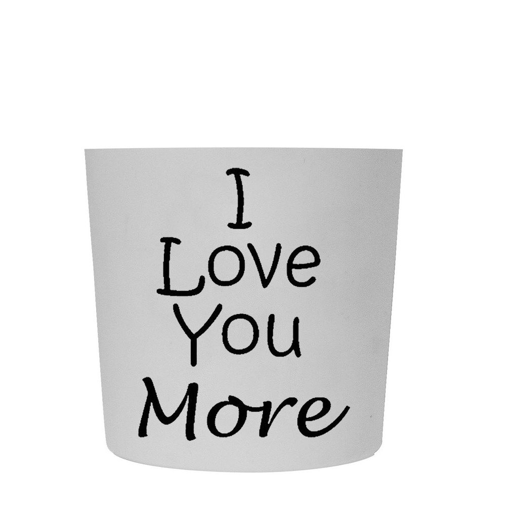 Funny Guy Mugs I Love You More Travel Tumbler With Removable Insulated Silicone Sleeve, White, 16-Ounce by Funny Guy Mugs (Image #5)