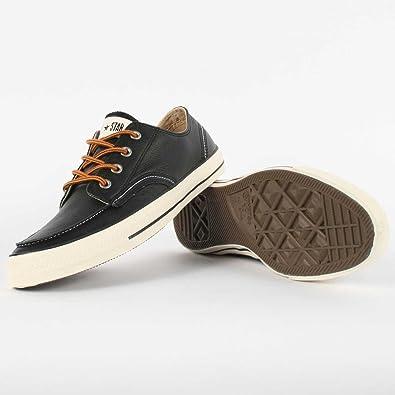Converse Men's Chuck Taylor Classic Boot Ox Sneaker Black 130136C ...