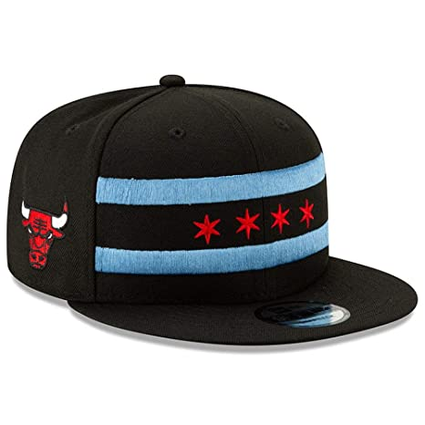 8ffe403dc50 Image Unavailable. Image not available for. Color  New Era Chicago Bulls  City Edition On-Court 9FIFTY Snapback Adjustable Hat Cap