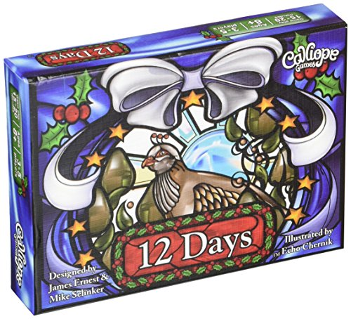 12 Days Card Game (Mrs Claus Plus)