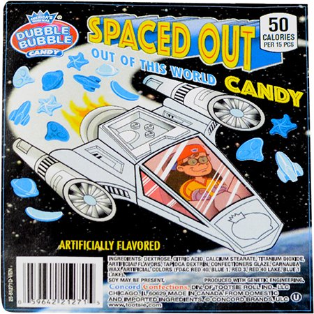 [Dubble Bubble Spaced Out, Out of this World Candy] (Astronauts Star Wars)