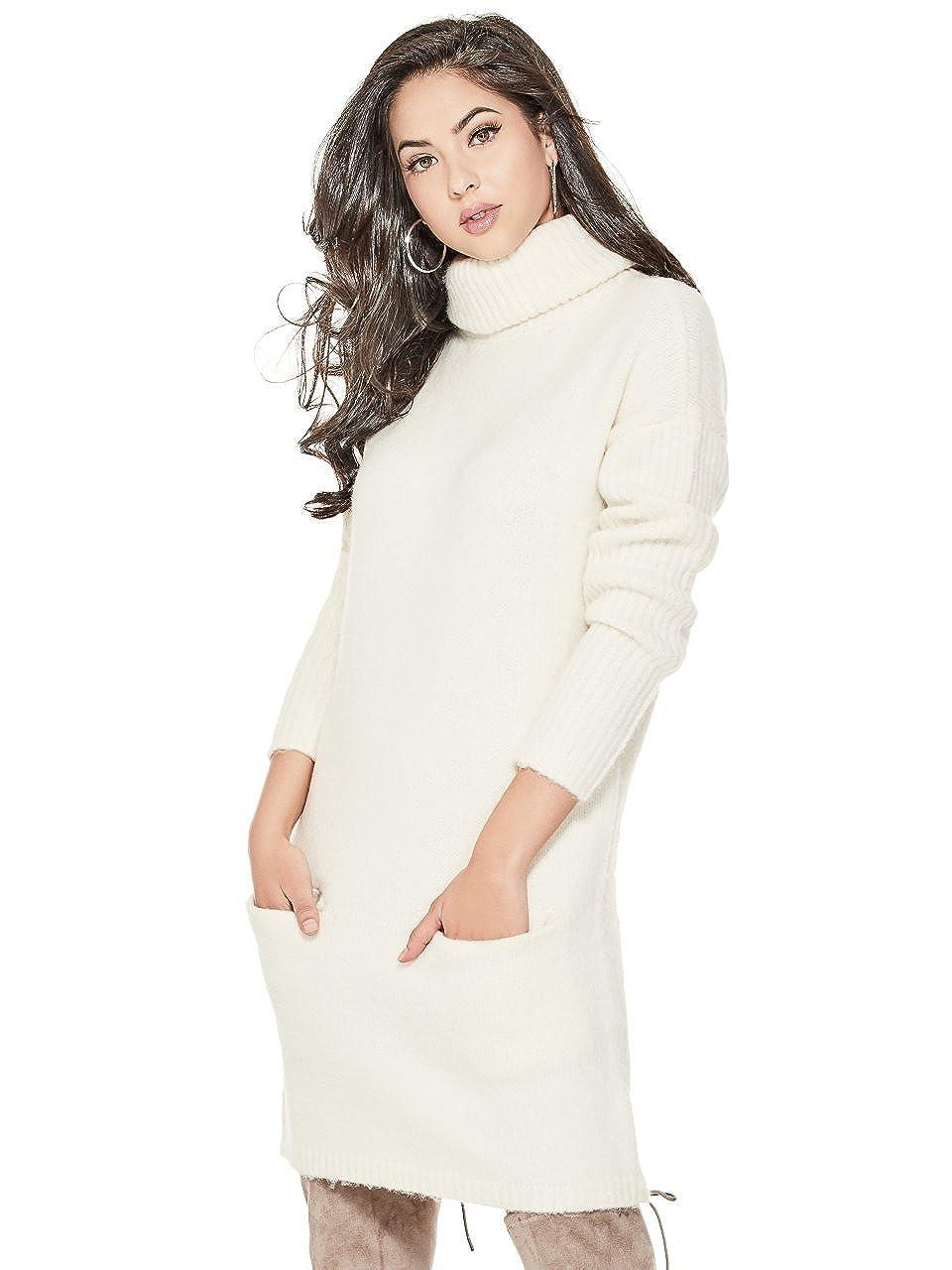 b5d18e9f52 GUESS Women s Carey Sweater Dress  Amazon.ca  Clothing   Accessories