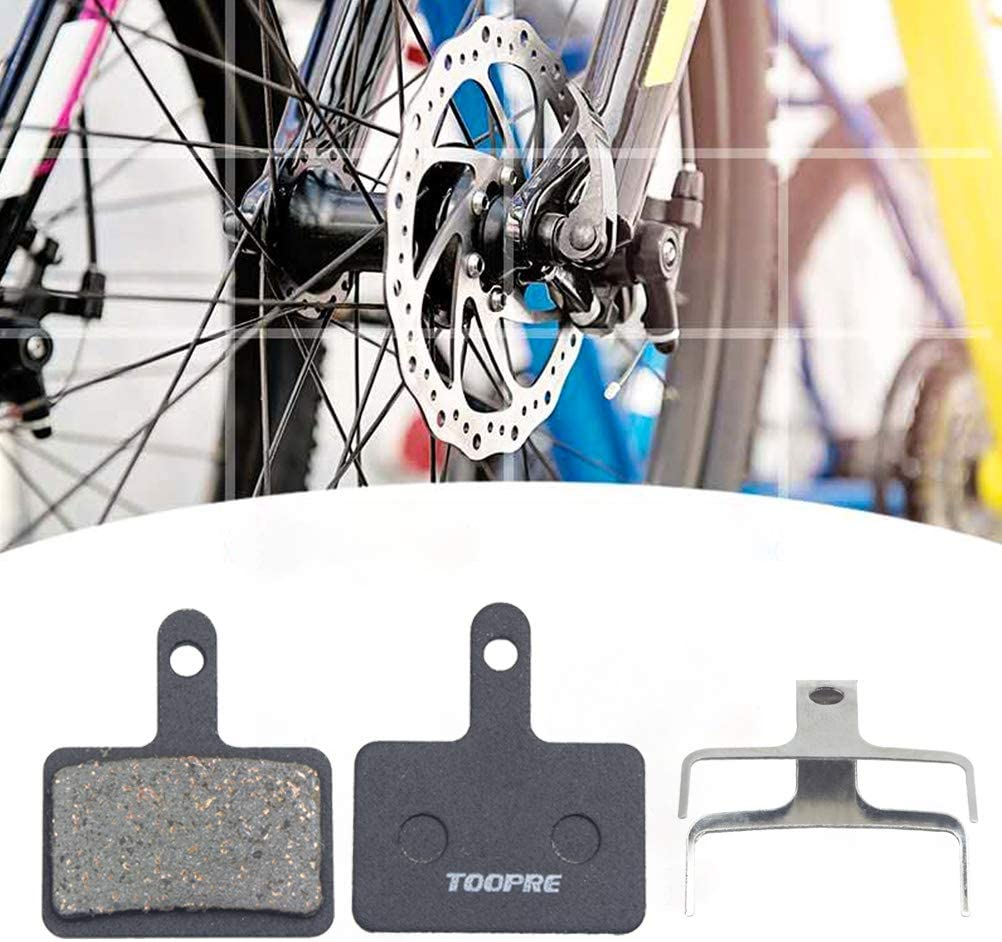 Metal Replacement Bicycle Bike Brake Pads for M315 M355 M375 M395 M416 M446 M447 M475 WIFUN 2 Pairs Disc Brake Pads