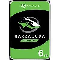 Seagate Barracuda 6TB Internal Hard Drive HDD – 3.5 Inch SATA 6 Gb/s 5400 RPM 256MB Cache for Computer Desktop PC…