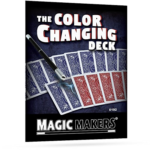 - Magic Makers The Color Changing Deck - Magic Training & Bicycle Special Gimmick Included