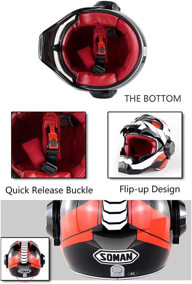 Transformers Flip Up Helmet Casque Iron Man Braveking Casque Moto Casque Harley Vintage,10,M