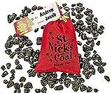Santa's Coal Bubble Gum St. Nick's Coal-1 pouch