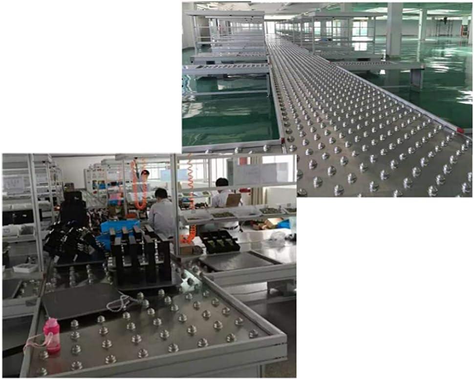 SSyang 8 St/ück Kugelrollen,15 mm Dia Ball Transferlagereinheit,Kegelrollenlager mit Boden Montagel/öcher,f/ür /Übertragungssystem,Verarbeitungssystem und Verpackungsmaschinen Zubeh/ör