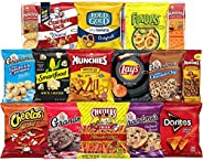 Frito-Lay Ultimate Snack Care Package, Variety Assortment of Chips, Cookies, Crackers & More, 40 C