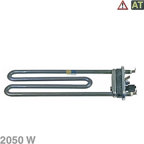 Heizelement Heizstab Heizung mit Fühler wie Whirlpool 481010645279 Waschmaschine