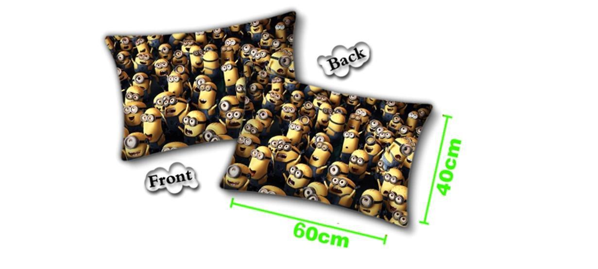 Despicable Me Minion Black Pillow 24'' x 15'' by Despicable Me