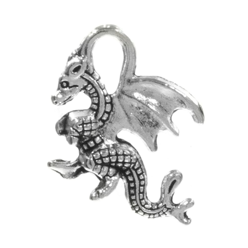 Wolf West Coast Paracord Dragon Variety of Finishes Available and Skull Paracord Charms Pack Sizes Range from 1-20