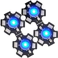 Emitter Diode Chips High Power 3W DIY Verlichtingsarmatuur LED-chips,(3.2-3.4V Royal Blue, 445-450NM)