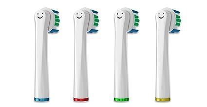 T Smile:) cabezales de cepillo de repuesto para cepillo de dientes eléctrico braun oral