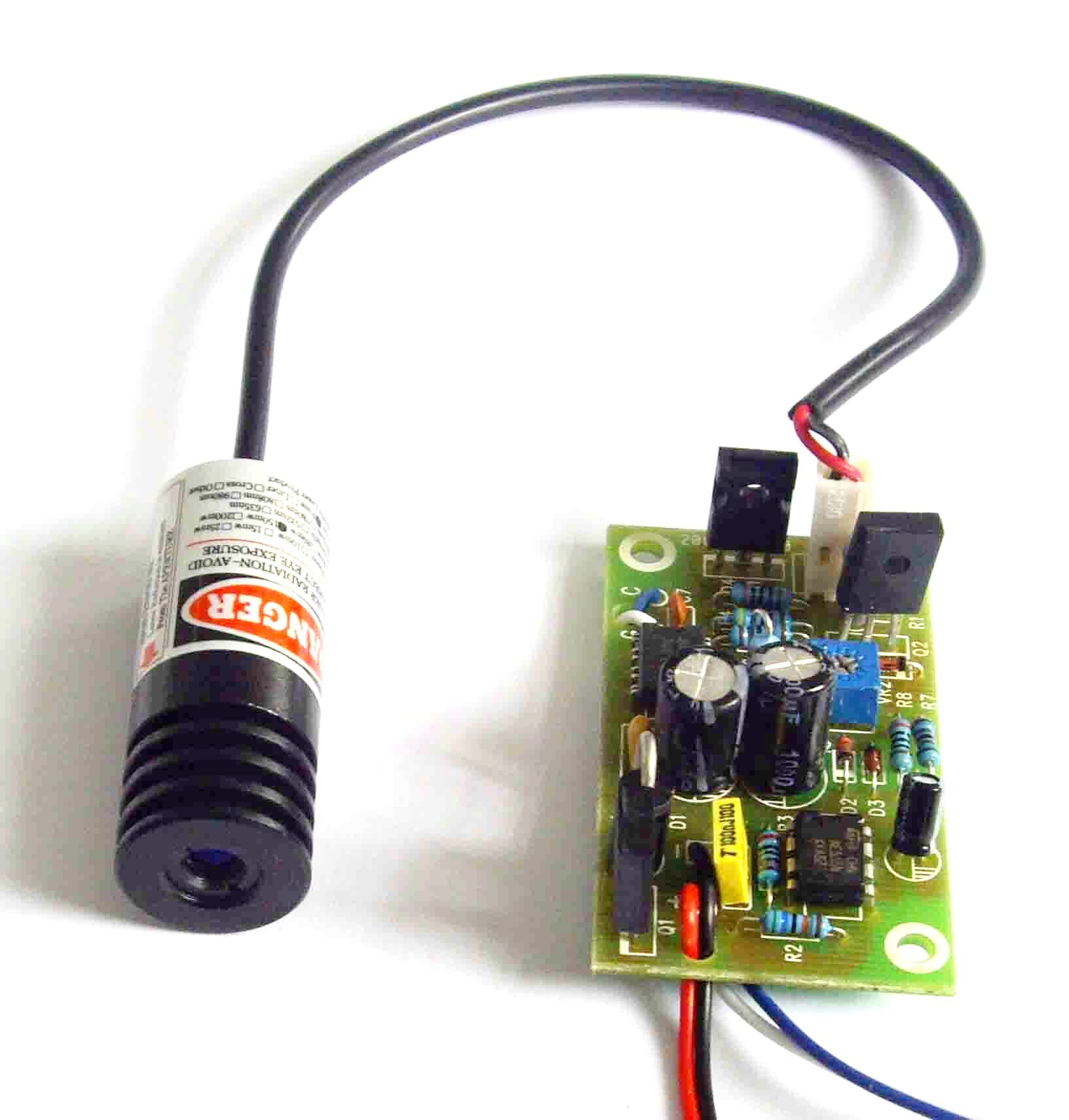 R150 650nm 150mw Red Laser Dot Module w/ 5.0VDC Driver out &18x45mm