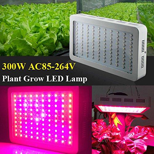 Bluelover 300W Pflanze Wachstum LED Lampe Garten Gewächshaus Pflanzen Keimling Licht