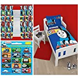 Thomas The Tank Engine Junior/Toddler Duvet + 72'' Curtains + FREE Small Reward Stickers