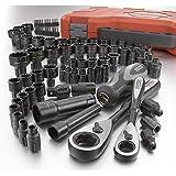 CRAFTSMAN 85-PC Universal MAX AXESS Mechanics Tool Set (Inch/Metric)