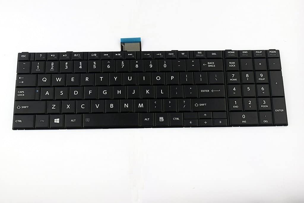 US Layout Repalcement Keyboard for Toshiba Satellite S850 S850D S855 S855D S870 S870D S875 S875D Series
