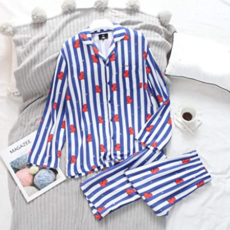 AHSXL Pijama Conjunto Camisa de Manga Larga camisón camisón Camisero de Hombre Mujer, XXL: Amazon.es: Hogar