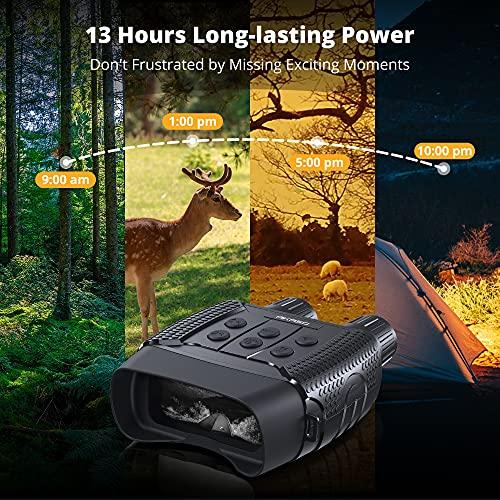 AKASO Night Vision Binoculars for Hunting, Infrared Binoculars with WiFi for Adults