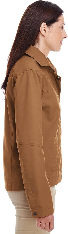Harriton Womens Auxiliary Canvas Work Jacket M705W