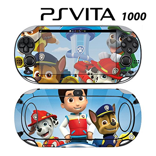 Skin Decal Cover Sticker for Sony PlayStation PS Vita (PCH-1000) - Paw Patrol Ryder Marshall Chase Zuma Skye -  Decals Plus, PV1-CT18