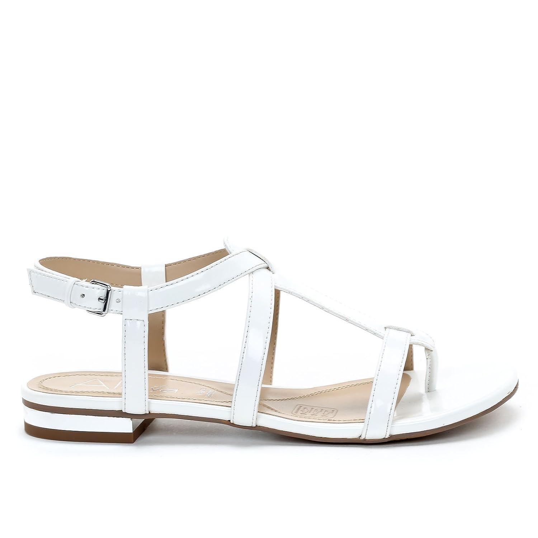 Donna Bassi Amp;scarpe Bianco Sandali Scarpe By Alesya cAq35RL4j