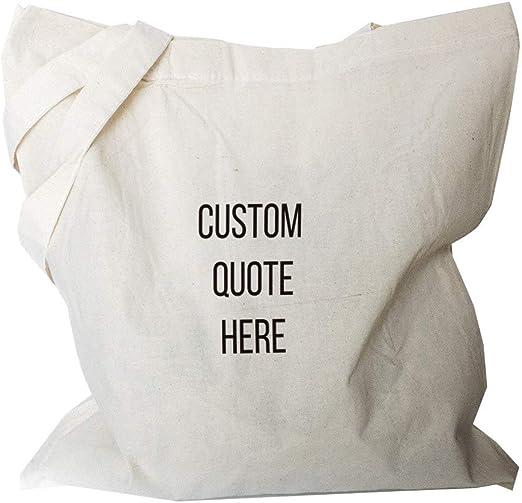 Bolsa de lona personalizada – Bolso de tela personalizable – bolsa ...