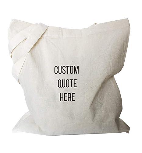Bolsa de lona personalizada - Bolso de tela personalizable ...