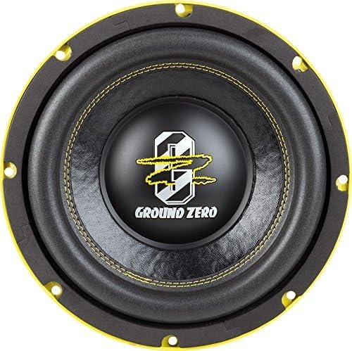 Ground Zero Gzhw 10xspl D1 Subwoofer 25 Cm Elektronik