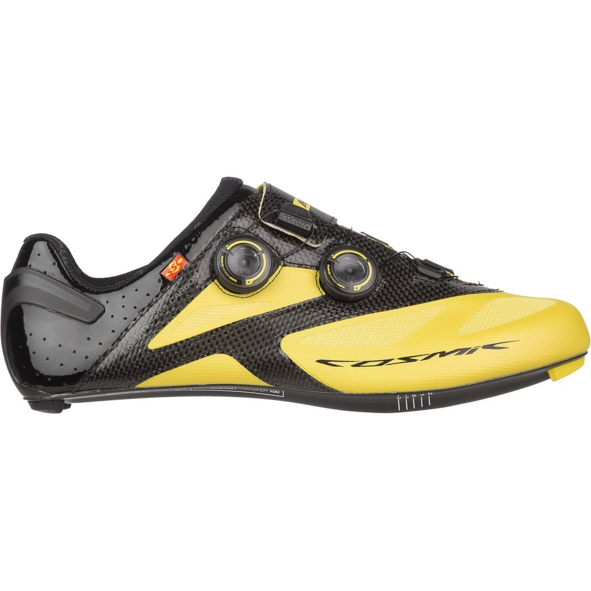 Mavic Cosmic Cosmic Cosmic Ultimate Maxi Rennrad Fahrrad Schuhe gelb schwarz 2017 63b75e