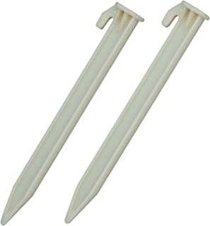 Blue Sky Gear Plastic Tent Pegs (6-Pack)  sc 1 st  Amazon.com & Amazon.com : Steel Skewer Tent Pegs 7