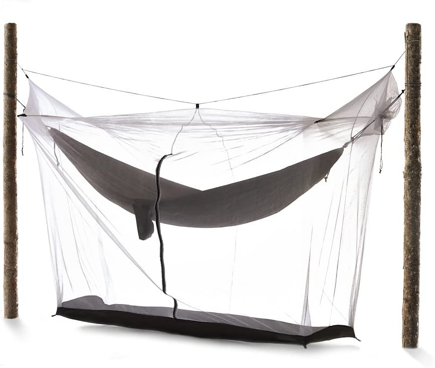 flying tent Unique All-in-ONE Hammock Tent, Bivy Tent, Hammock and Rain Poncho Fine Mesh Mosquito Net