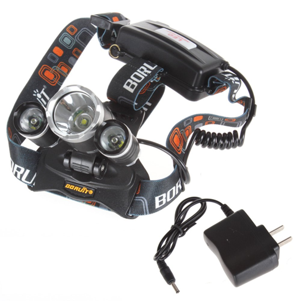 SaySure - Boruit JR-3000 5000 Lumen Super Bright LED Headlamp Headlight