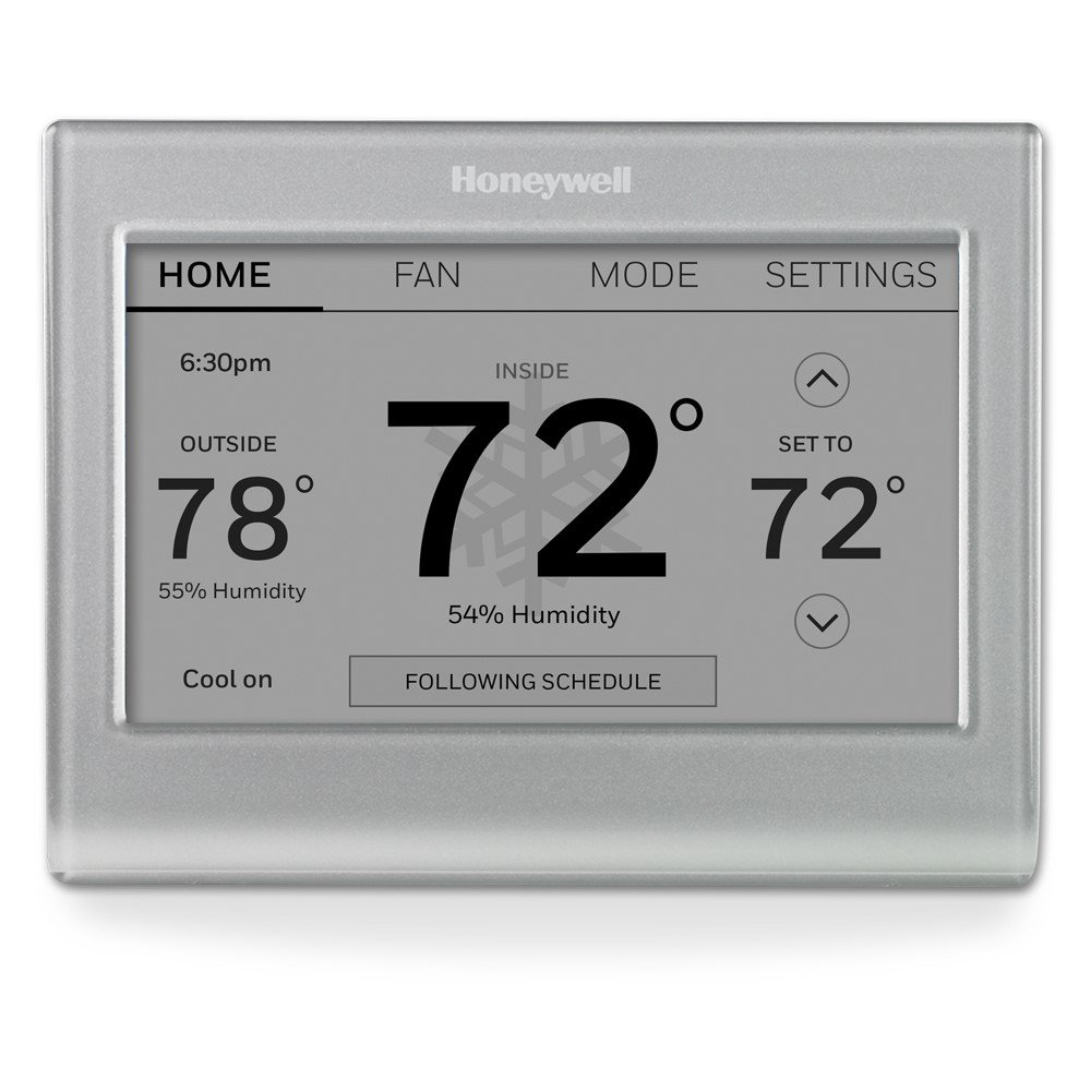 galleon honeywell rth9585wf1004 w wi fi smart color programmable thermostat v 2 0 c wire. Black Bedroom Furniture Sets. Home Design Ideas