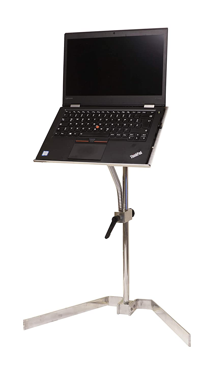 Finelevels Laptop Ständer Berlin, Bodenständer höhenverstellbar, auch für iPad Pro, Tablets