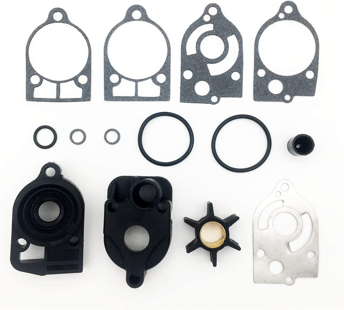 Water Pump Repair Kit Replacement For Mercury and Mariner Outboards 30 HP - 70 HP 46-77177A3 18-3324