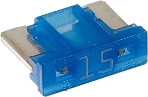 Bussmann BP/ATM-15LP-RP 15 Amp Low Profile ATM Blade Fuse, 5 Pack