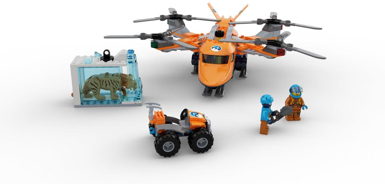 60193 LEGO City Arctic Expedition Arctic Air Transport 277 Pieces Age 6+