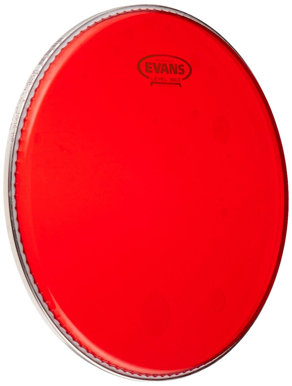 Evans TT13HR Hydraulic Red Drum Head, 13 13
