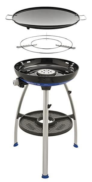Cadac Carri Chef Deluxe.Cadac Carri Chef 2 Skottel Barbecue 47 Cm Diameter Amazon Co Uk
